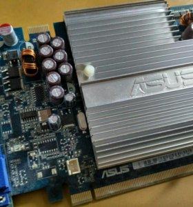 Видеокарта asus EN7600GSSILENT/HTD/512M/A