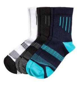 Новые носки H&M (3 шт) на мальчика