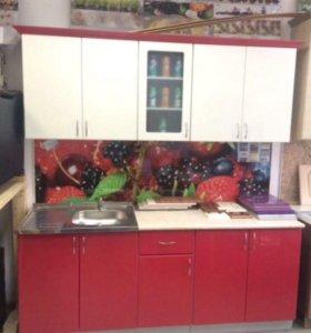 Набор кухонной мебели 2 метра прямая