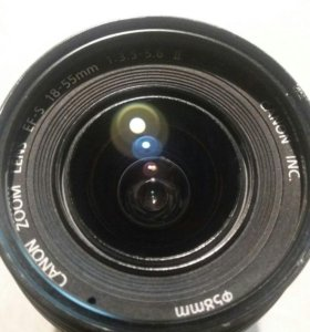 Canon Ef-S 18-55mm.
