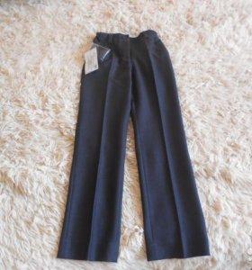 брюки школьные, р 128