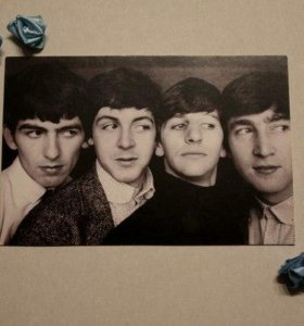 """Открытка """"The Beatles"""""""