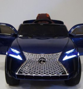 Детский электромобиль RX Е111КХ синий глянец