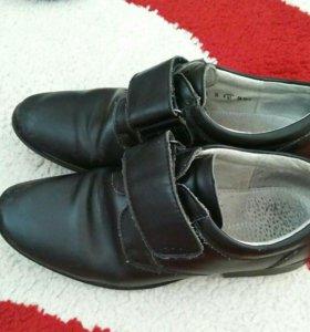Ботинки школьные, р-р 35