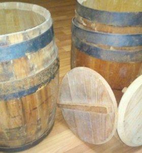 Кадка деревянная, 1 шт., объём: 10 л.