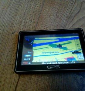 GPS BT 5 дюймов с беспроводной камерой