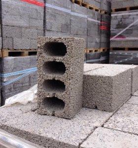 Керамзитобетонный блок - стеновой
