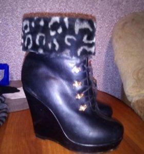 Ботинки зимнии