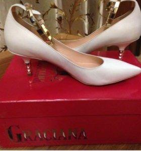 Кожаные туфли Gracianа