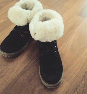Зимние ботинки 36 размера