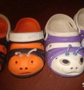 Кроксы для малышей