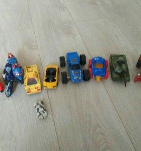 Машинки, мотоциклы, танки