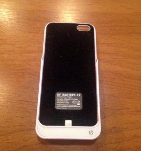 Чехол аккумулятор для iPhone 5/5s