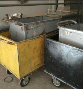 Тележки грузовые 200-500л
