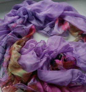 Яркий шарф В ПОДАРОК