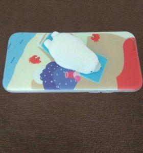 3д чехол с тюленем на Iphone 6 6s