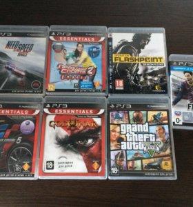 PlayStation 3 500g +7 игр