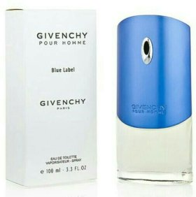 Givenchy Pour Homme Blue Label EDT 100ml Tester