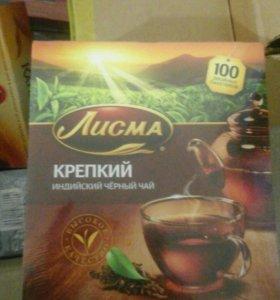 Чай 100 пакетов