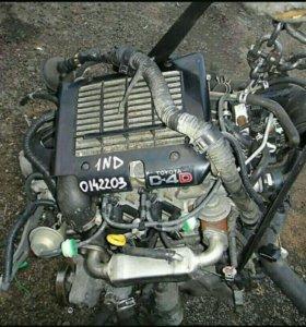 Контрактный  двигатель Toyota 1ND-TV - Продажа
