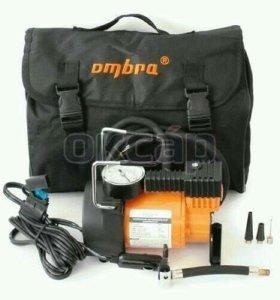 Усиленный автомобильный компрессор в сумке OMBRA