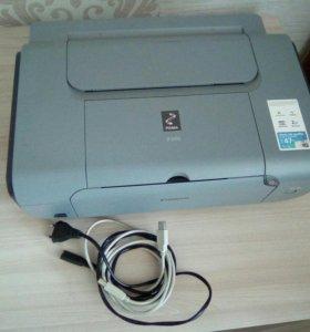 Принтер canon цветной.