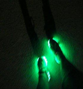Светящиеся кроссовки на колесах. Срочно! Торг