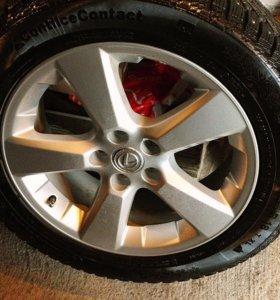 Колеса (шипы) на Lexus RX