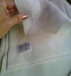 Столовый текстиль Линум.Новая скатерть+6 салфеток.