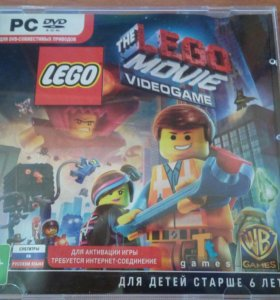 Диск с лего игрой THE LEGO MOVIE VIDEOGAME