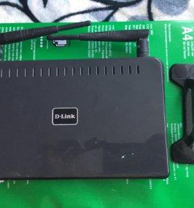 Роутер D-Link DIR-628