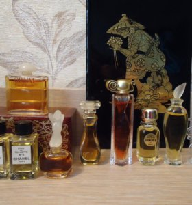 Givenchy, CHANEL, Opium, Cartier и др.