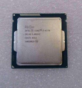 Intel core I7 4770 3.4-3.9 Ghz