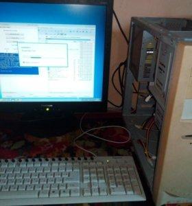 Рабочий офисный компьютер