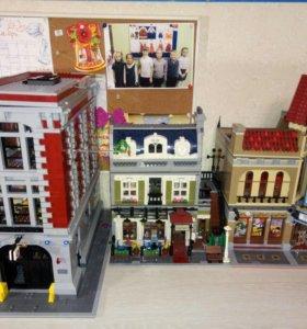 Лего дом охотнкиков