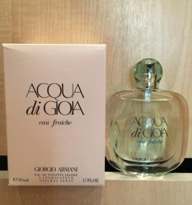 Giorgio Armani- Acqua di Gioia eau fraiche 50 ml