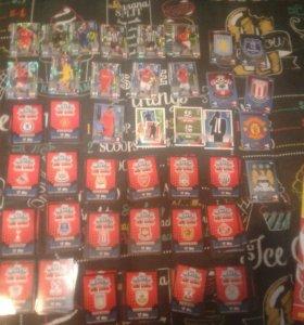 Карточки футбольный+ журнал и игровое поле!