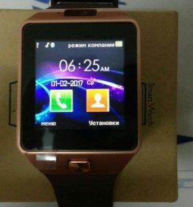 Смарт-часы DZ09 в премиум комплектации с гарантией