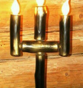 Светильник ручной работы.