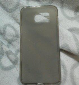 Чехол на Samsung Galaxy S6 (чёрный матовый )