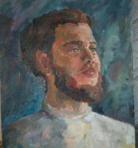 Живопись. Портрет мужчины