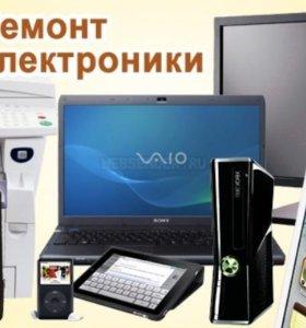 Ремонт телевизоров,компьютеров,ноутбуков.