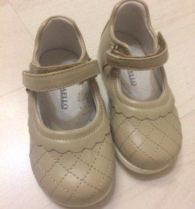 Туфли для девочки 23 размера