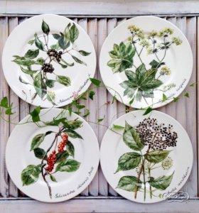 Посуда с рисунками на заказ ручной работы