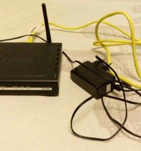 Wi-Fi маршрутизатор D-Link DSL-2600U