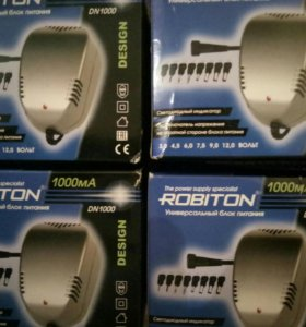 Адаптер robiton dn1000,1000мА