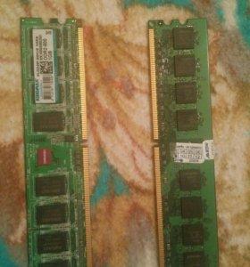 Оперативная память DDR2 1 гб