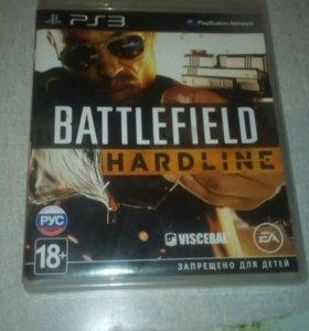 BATTLEFIELD HARDLINE на PS 3