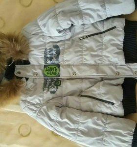 Куртка для мальчика на 4года.