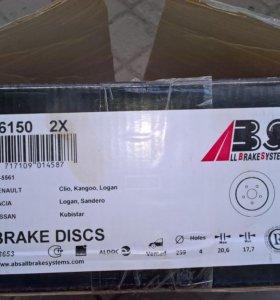 диски тормозные ABS 16150
